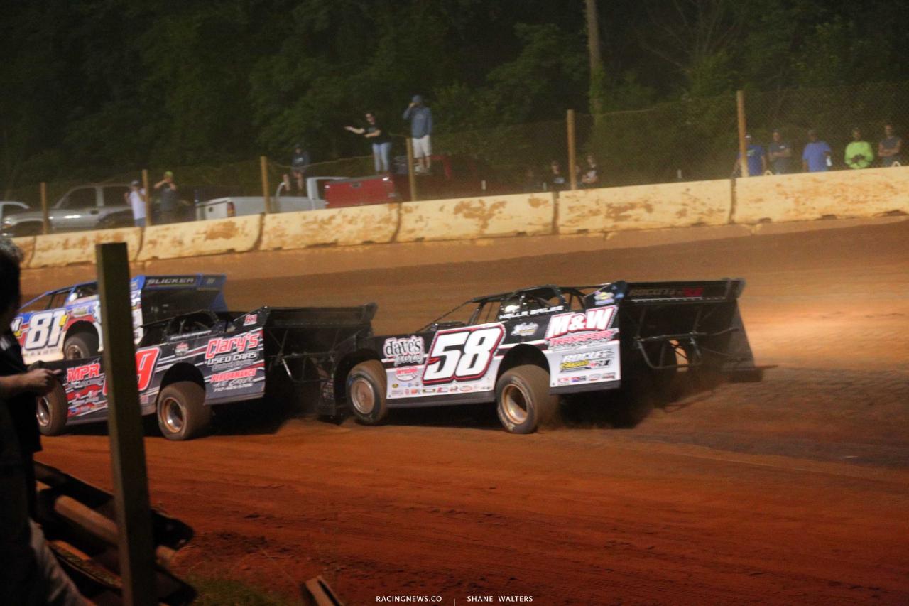 Ross Bailes at Cherokee Speedway - Lucas Race 5742