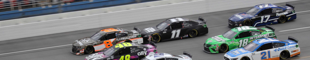 Talladega Starting Lineup: October 2020 (NASCAR Cup Series)
