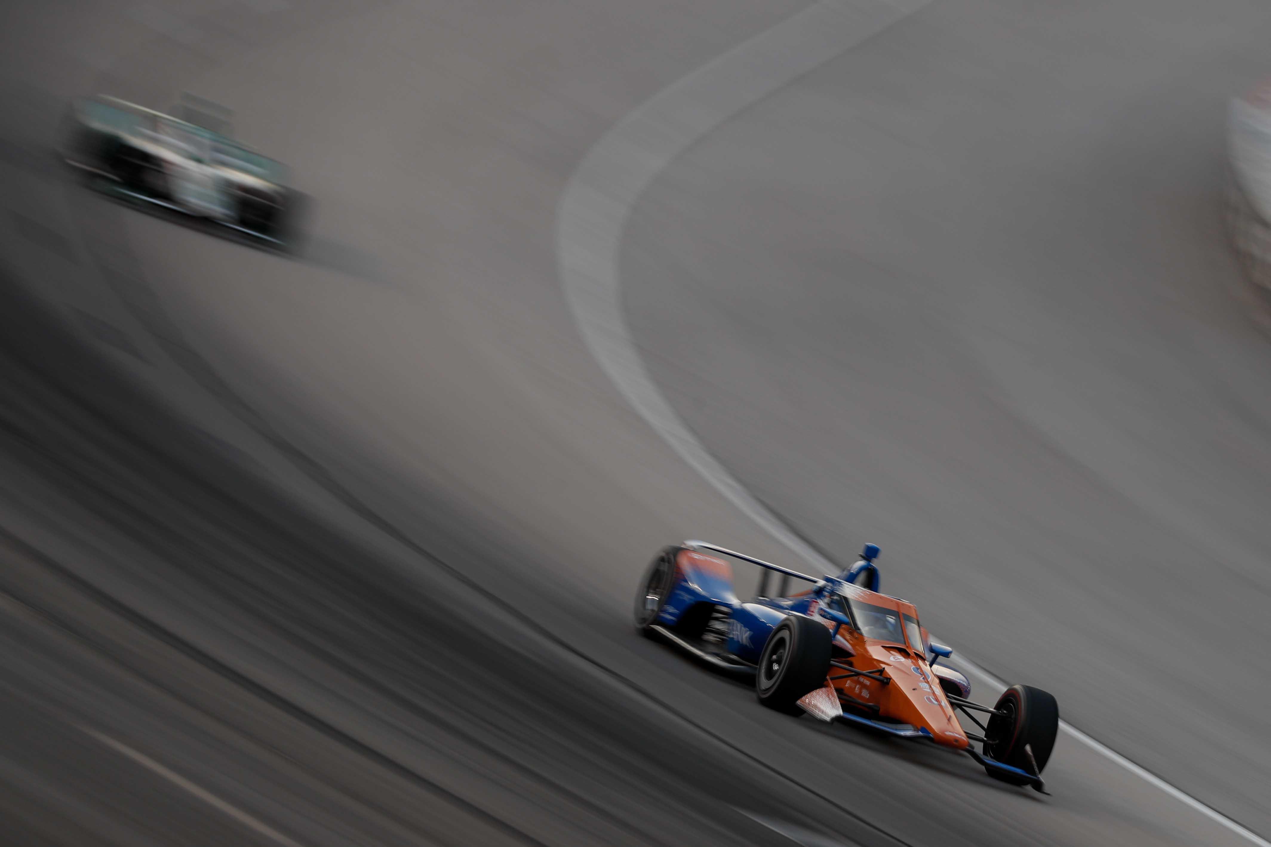 Scott Dixon at Texas Motor Speedway - Indycar Series