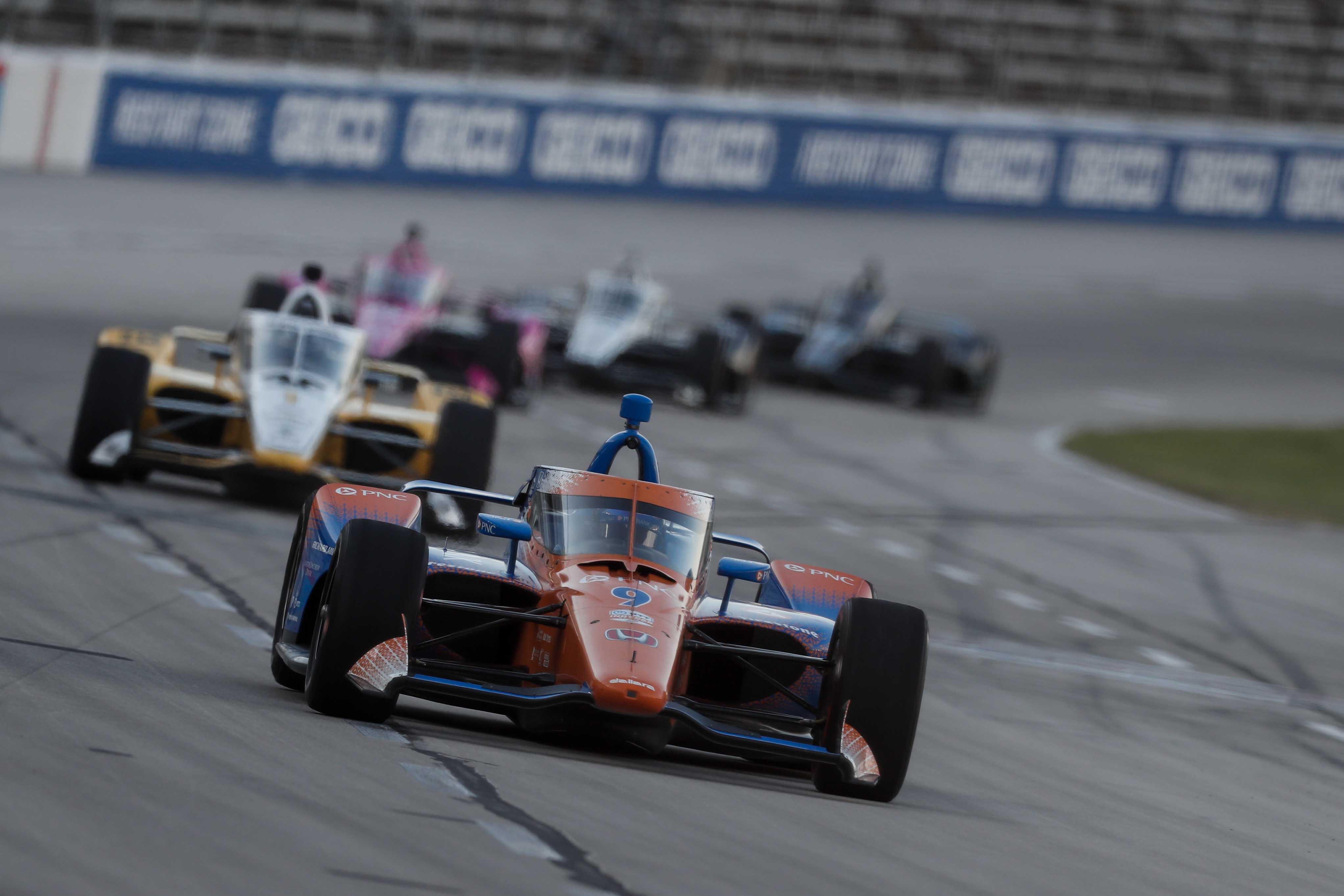 Scott Dixon at Texas Motor Speedway - NTT Indycar Series