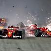 Scuderia Ferrari crash - F1