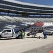 Rinus VeeKay crash - Texas Motor Speedway - Indycar Practice