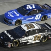 Aric Almirola and Ricky Stenhouse Jr at Bristol Motor Speedway - NASCAR Cup Series