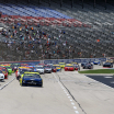 Aric Almirola and Ryan Blaney at Texas Motor Speedway - NASCAR Cup Series