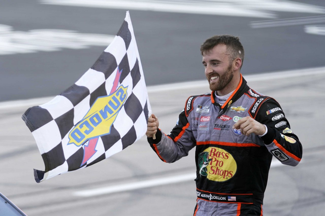 Austin Dillon wins at Texas Motor Speedway - NASCAR Cup Series