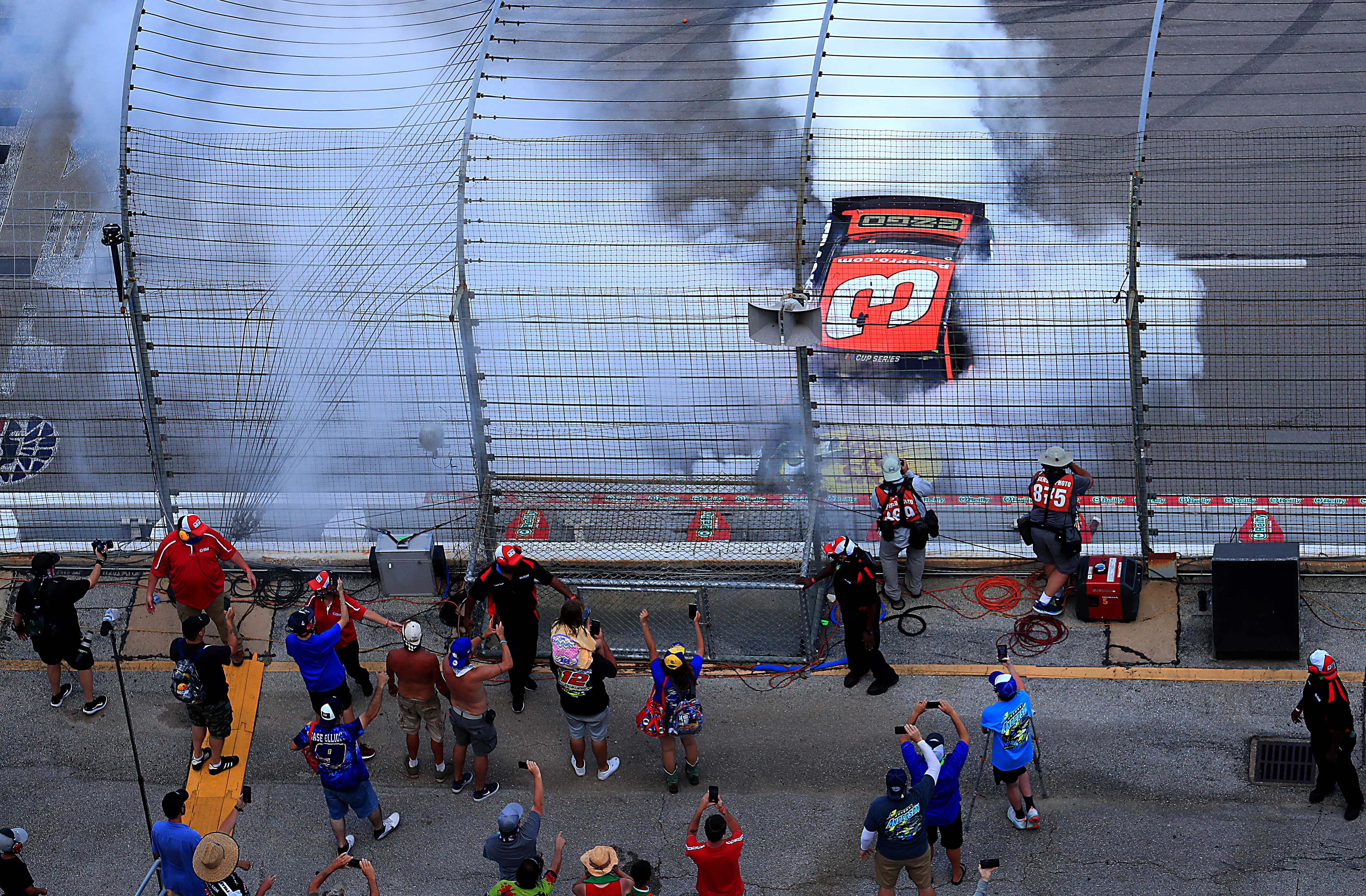 Austin Dillon wins at Texas Motor Speedway - NASCAR Cup Series fans