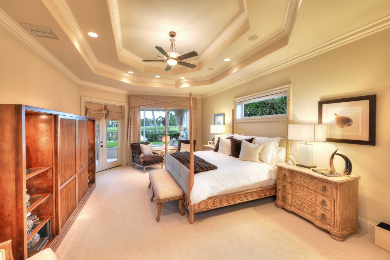 Bedroom - NASCAR team owner lists FL home