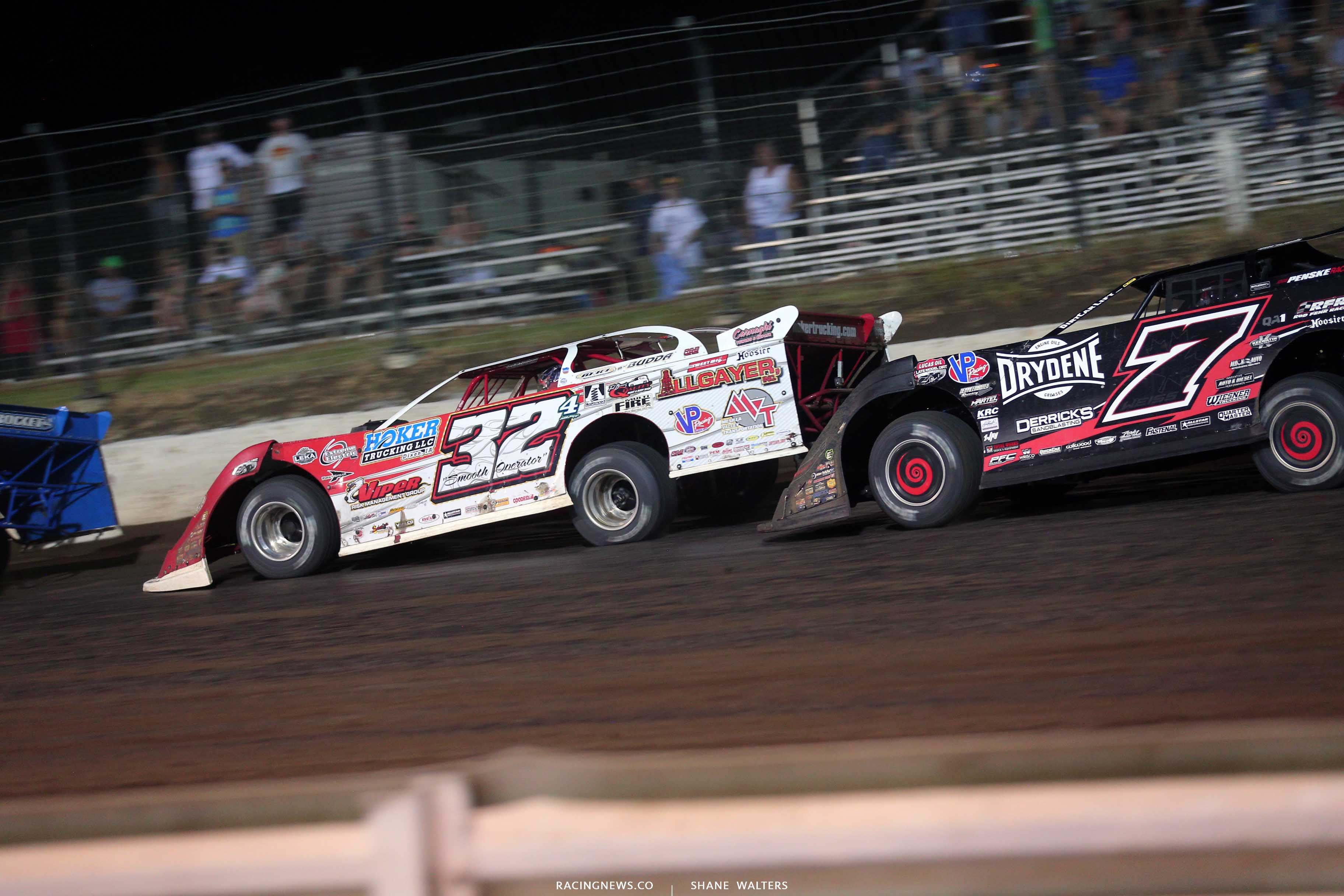 Bobby Pierce at I-80 Speedway in the Silver Dollar Nationals - Dirt Late Model 0454