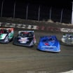 Brandon Sheppard, Ricky Thornton Jr and Jimmy Owens in the Silver Dollar Nationals at I-80 Speedway - Lucas Oil Late Model Dirt Series 0343