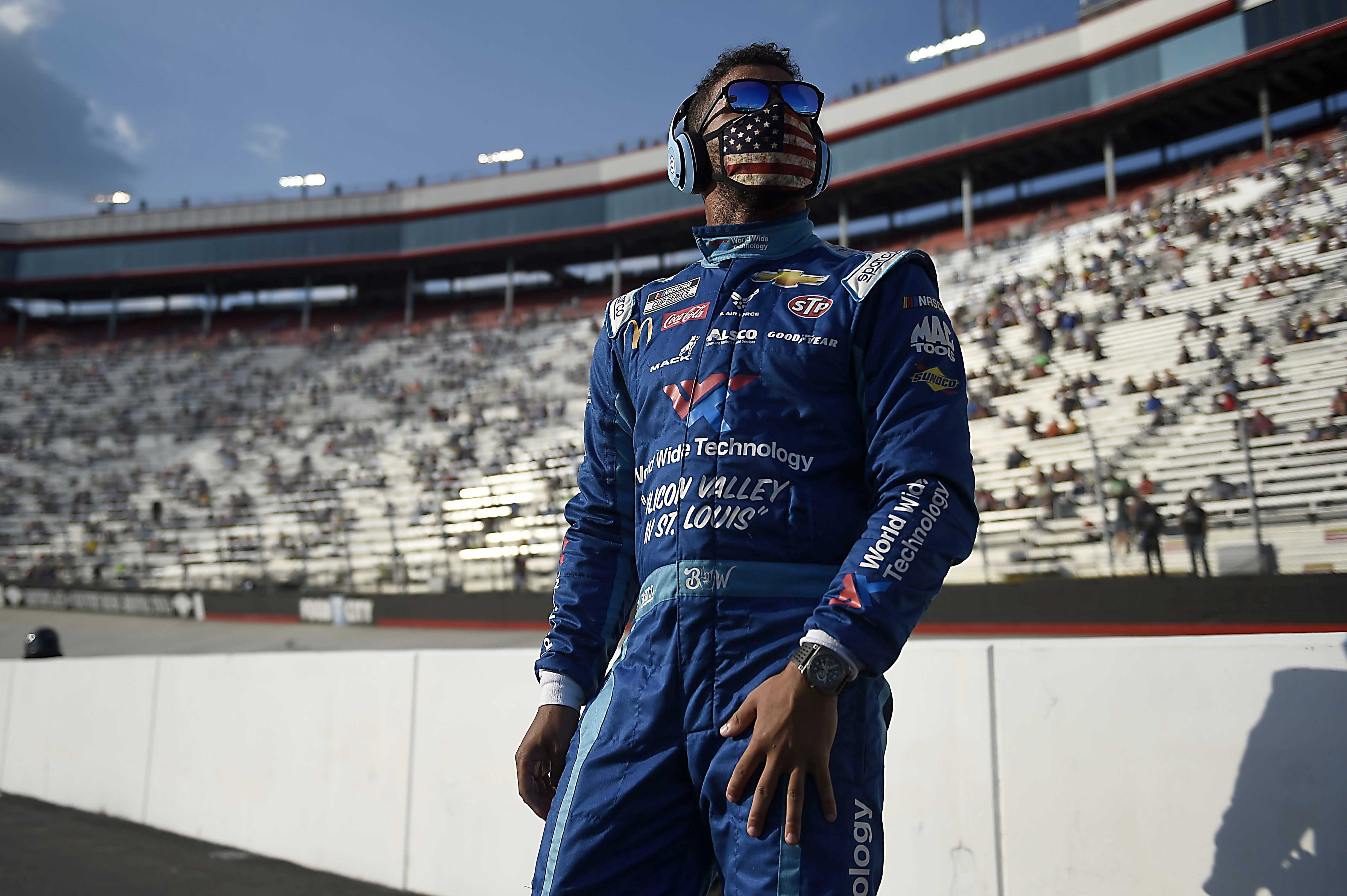 Bubba Wallace - Beats Headphones - NASCAR driver