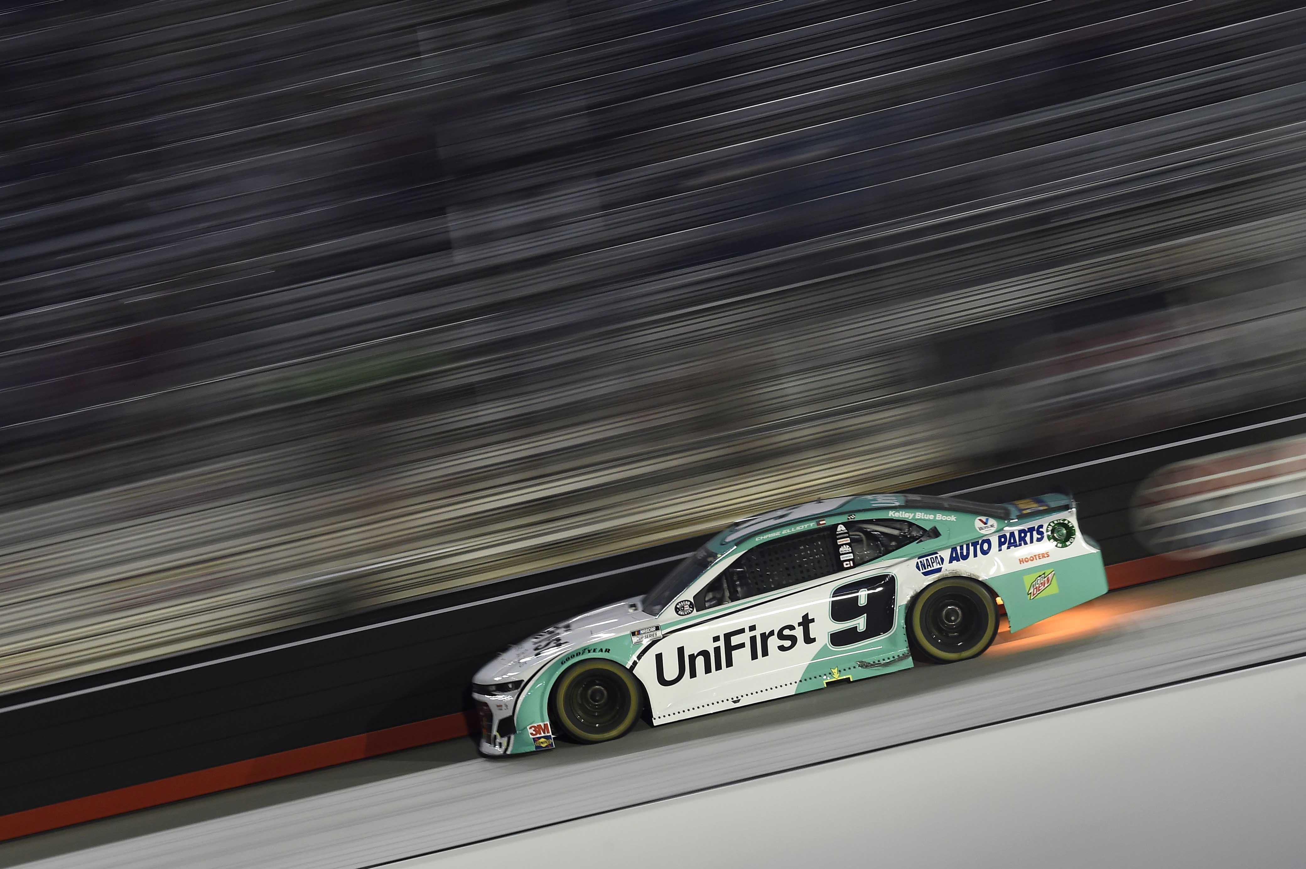 Chase Elliott - Underglow light at Bristol Motor Speedway - NASCAR All-Star Race