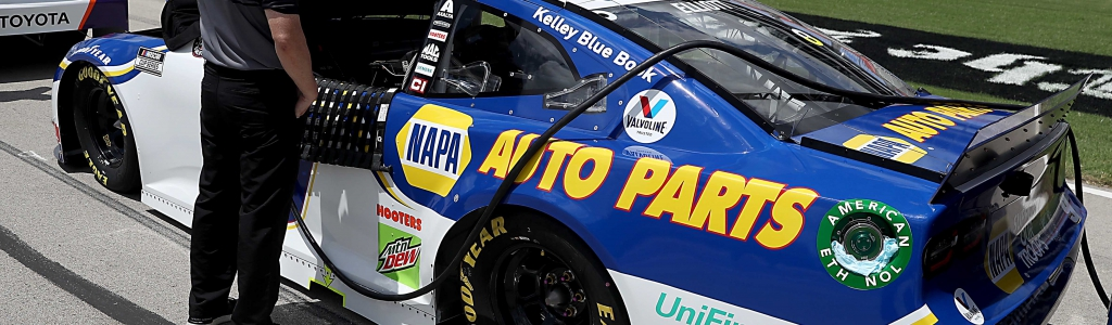 NASCAR missed a call to penalize Chase Elliott at Kansas Speedway