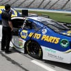Chase Elliott on the pit lane at Texas Motor Speedway - NASCAR Cup Series