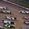 Chris Ferguson, Jimmy Owens, Jonathan Davenport, Chad Simpson, Terry Phillips at Lucas Oil Speedway - Diamond Nationals 9574