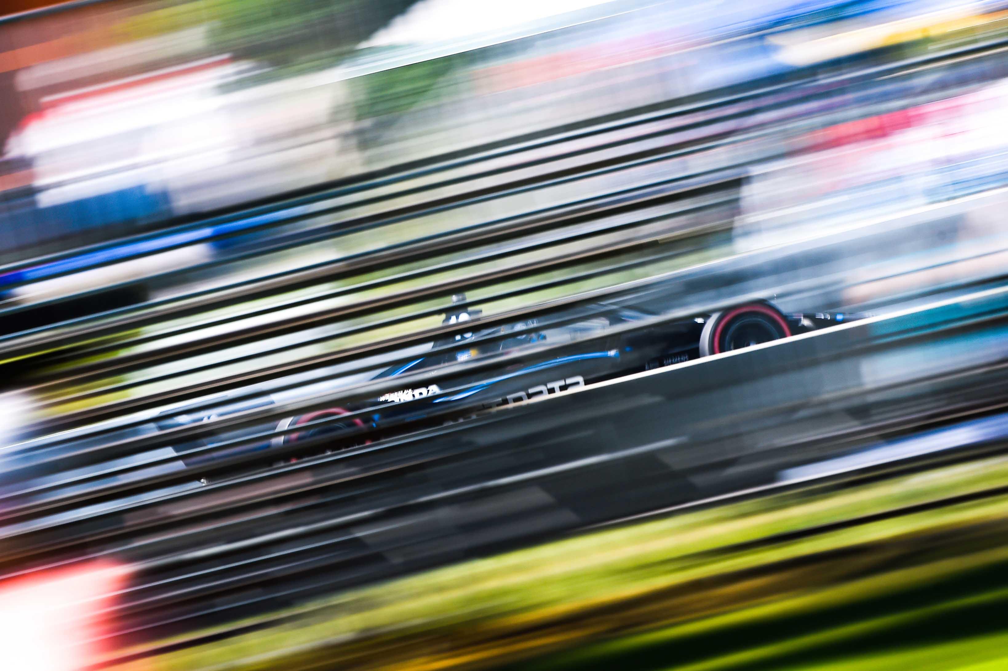 Felix Rosenqvist at Road America - NTT Indycar Series