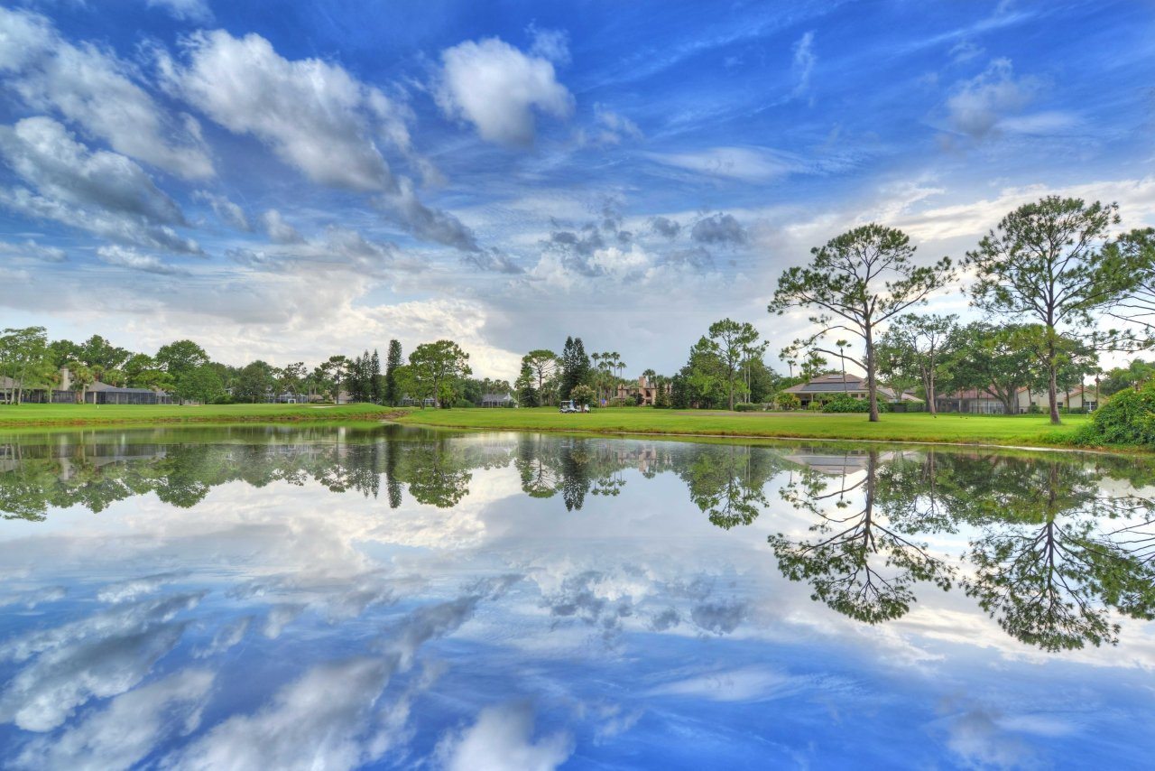 Golf course property for sale