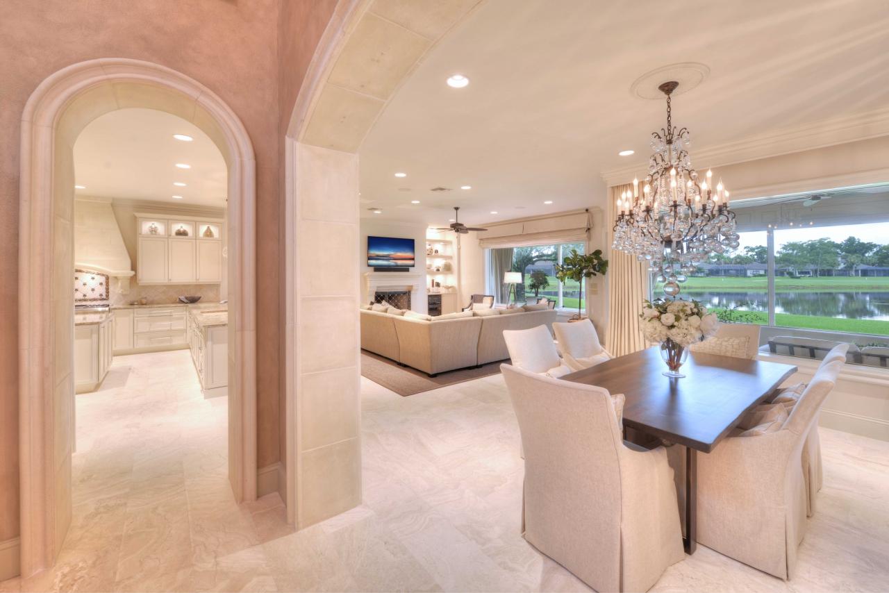 Golf course views - Florida real estate