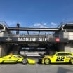 Indycar and NASCAR at Indianapolis Motor Speedway