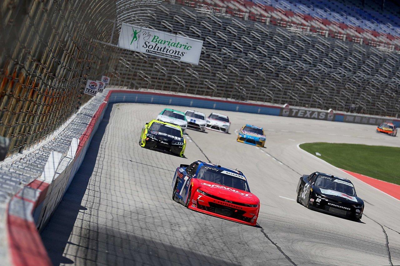 Justin Allgaier at Texas Motor Speedway - NASCAR Xfinity Series