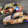 Kyle Busch and Ryan Newman - NASCAR All-Star Race at Bristol Motor Speedway - Underglow Lights