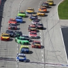 Kyle Busch crashes at Texas Motor Speedway - NASCAR Cup Series