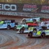 Kyle Strickler, Tyler Erb, Tanner English, Jimmy Owens, Earl Pearson Jr, Mike Marlar and Jonathan Davenport - Show Me 100 at Lucas Oil Speedway - LOLMDS 9109