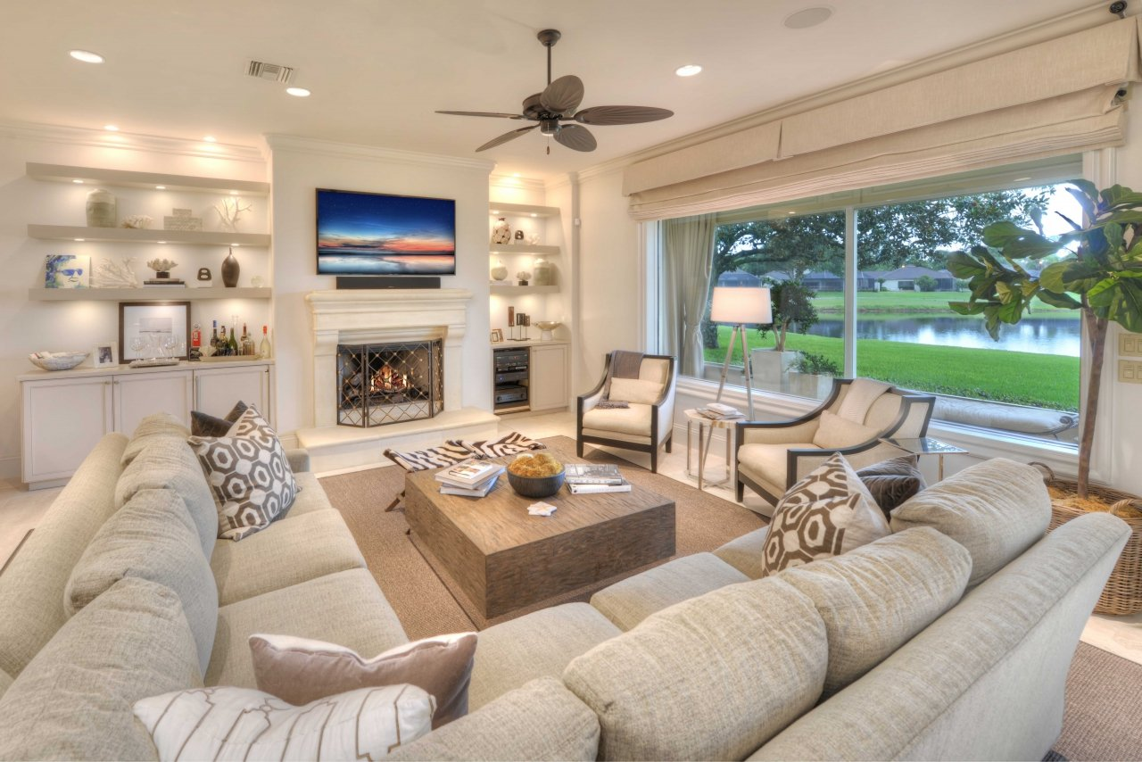 Living room - Florida house of Richard Childress