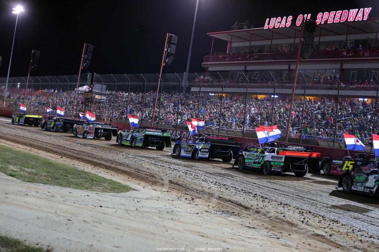 Lucas Oil Late Model Dirt Series at Lucas Oil Speedway - 2020 Show-Me 100 9209