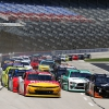 Michael Annett and Jeb Burton at Texas Motor Speedway - NASCAR Xfinity Series
