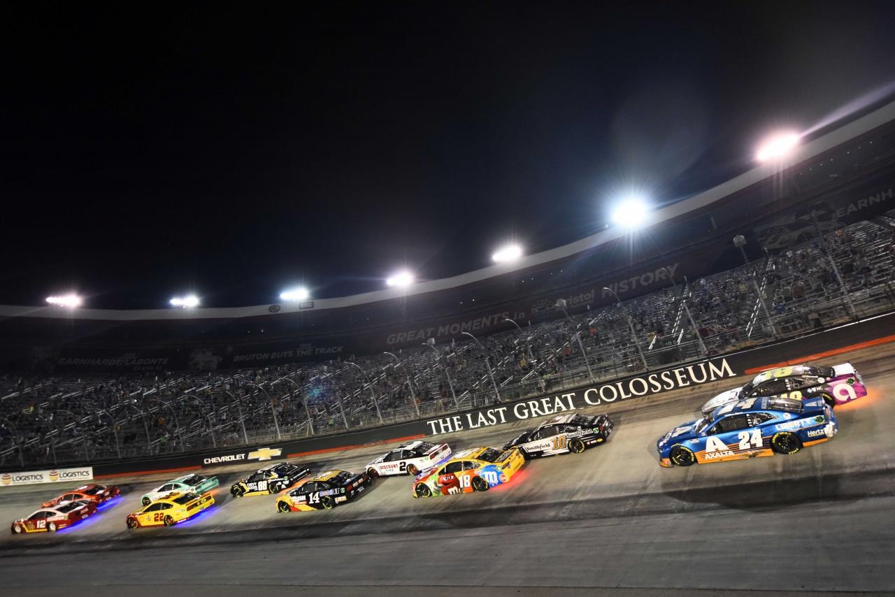 NASCAR All-Star Race at Bristol Motor Speedway - Underglow lights