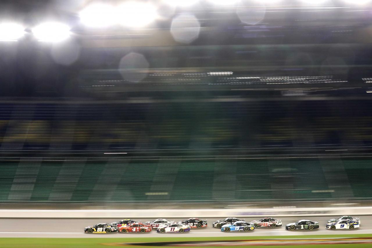 NASCAR Cup Series at Kansas Speedway - Alex Bowman, William Byron, Kevin Harivck, Brad Keselowski, Denny Hamlin