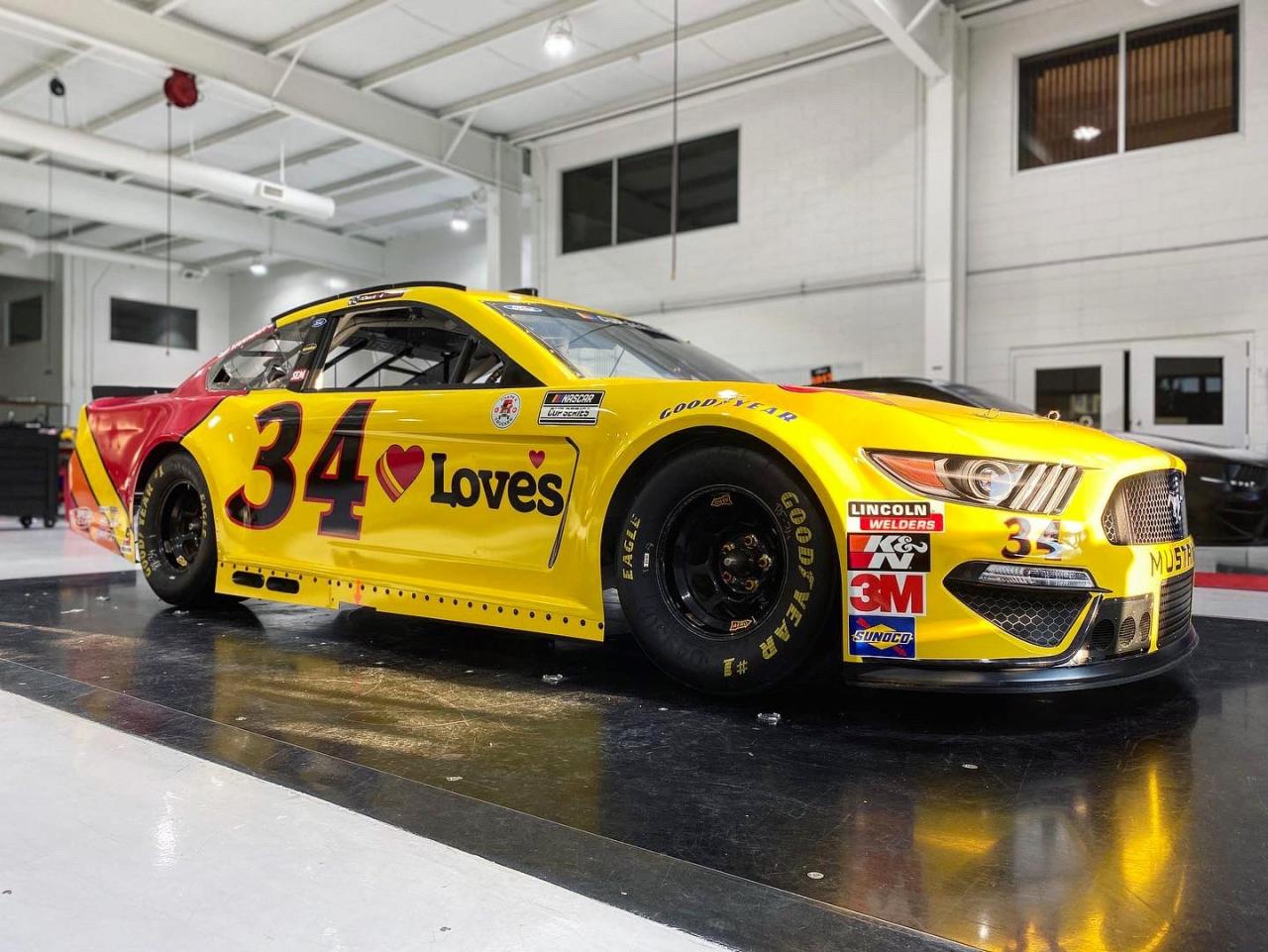 No 34 - Michael McDowell - NASCAR Shop