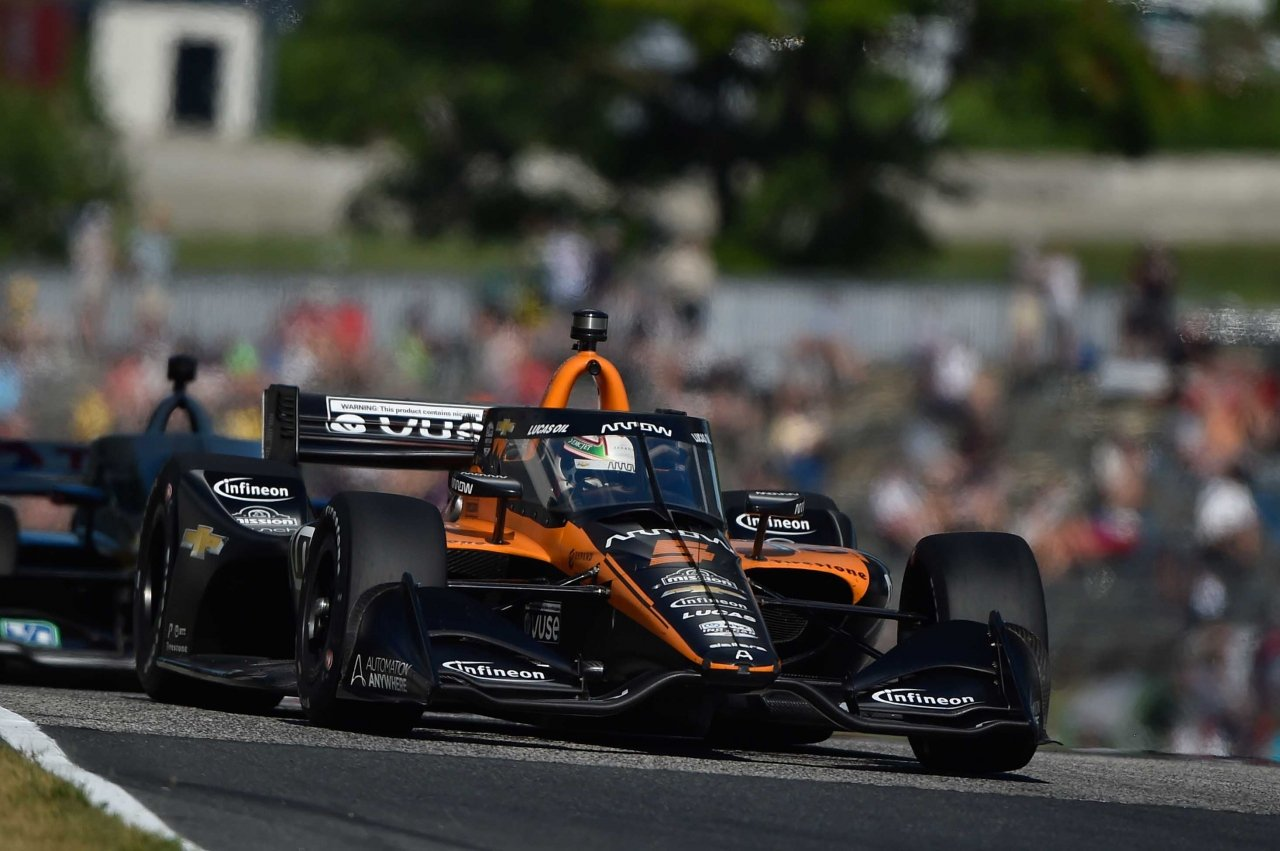 Pato O'Ward at Road America - Indycar Series