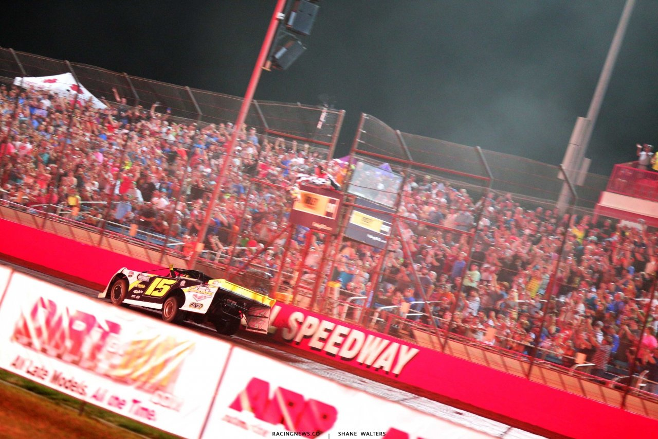 Payton Looney wins the Show-Me 100 at Lucas Oil Speedway - Lucas Late Model 9493