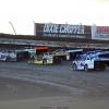 Scott Bloomquist, Jimmy Owens, Billy Moyer Jr and Jonathan Davenport at I-80 Speedway - Lucas Oil Late Model Dirt Series 0109