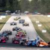 Scott Dixon and Will Power at Road America - NTT Indycar Series