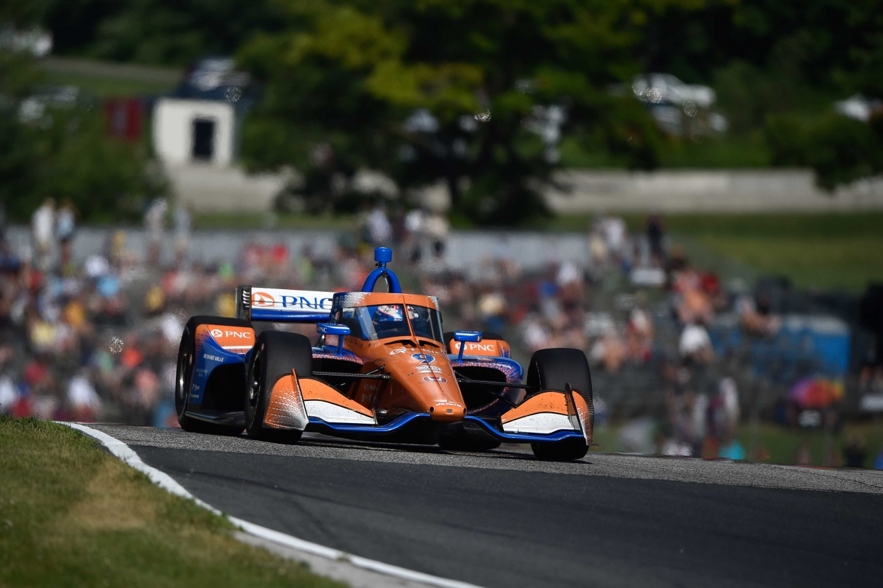 Scott Dixon at Road America - Indycar Series