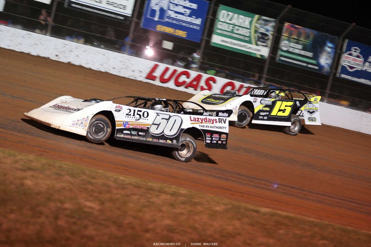Shanon Buckingham and Payton Looney - Show Me 100 at Lucas Oil Speedway - LOLMDS 9348