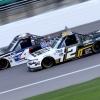 Sheldon Creed and Raphael Lessard - NASCAR Truck Series at Kansas Speedway