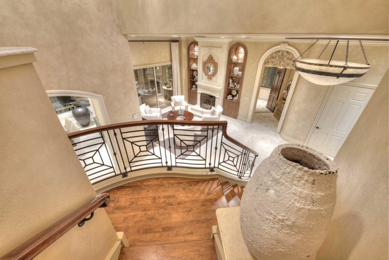 Spanish architecture - Richard Childress home (1)