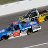 Stewart Friesen and Grant Enfinger - NASCAR Truck Series at Kansas Speedway