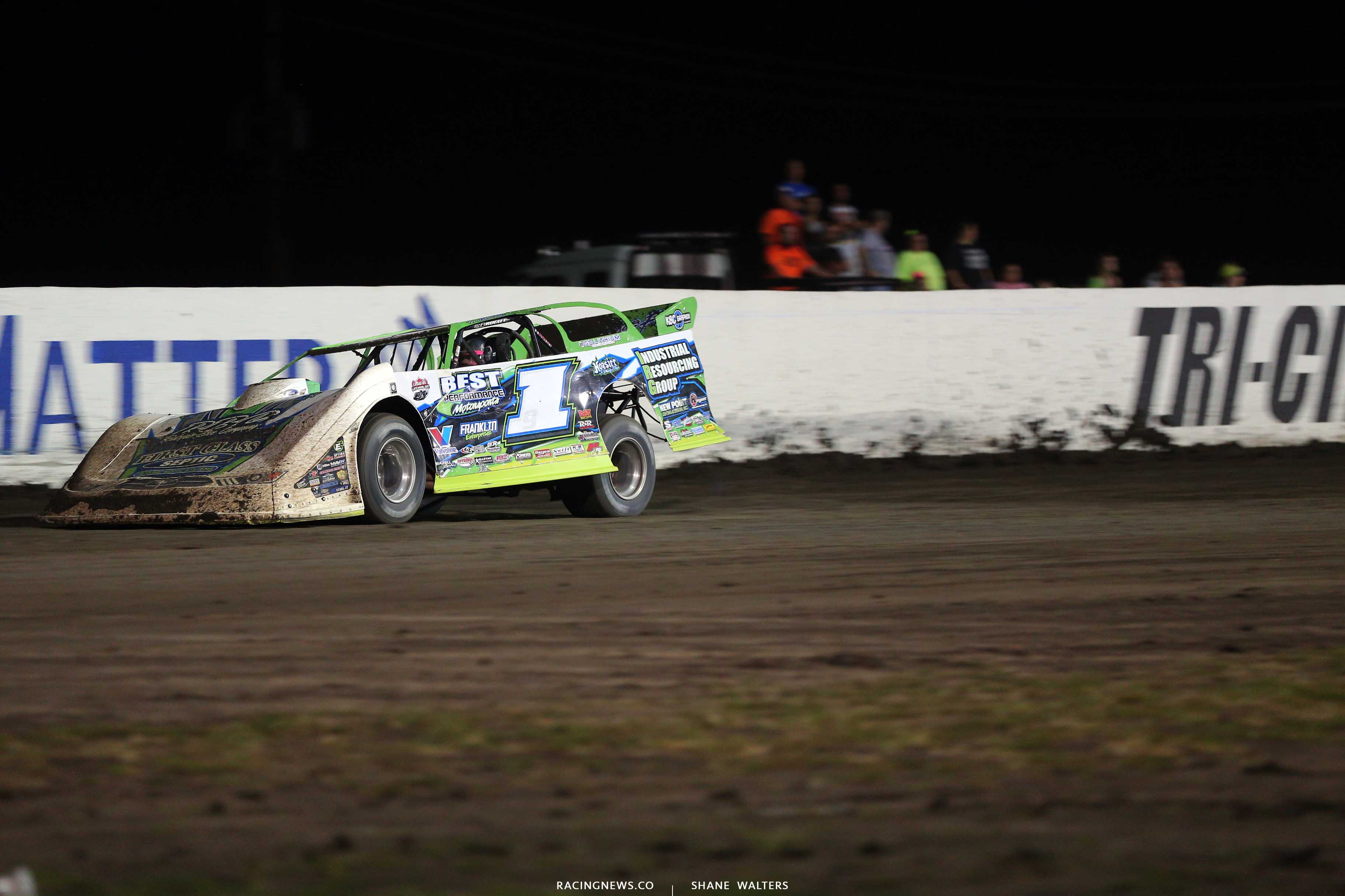 Tyler Erb at Tri-City Speedway - Lucas Oil Late Model 9043