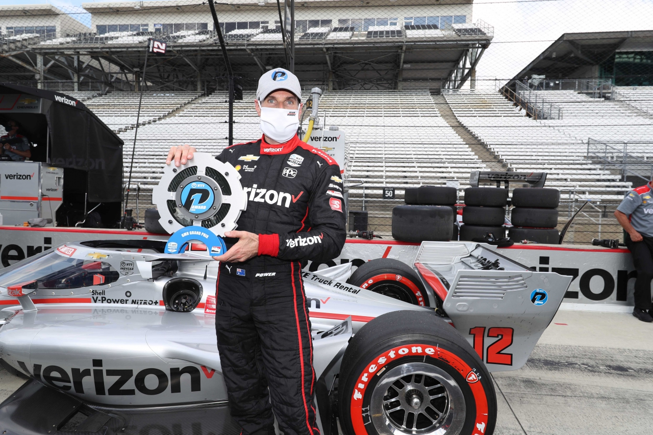 Will Power - Pole Award at the Indianapolis Road Course - Indycar 1