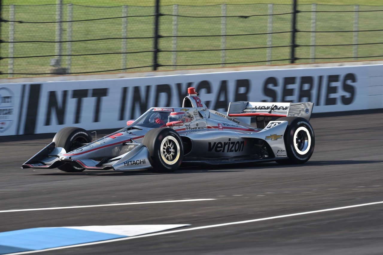 Will Power in the NTT Indycar Series - GMR Grand Prix