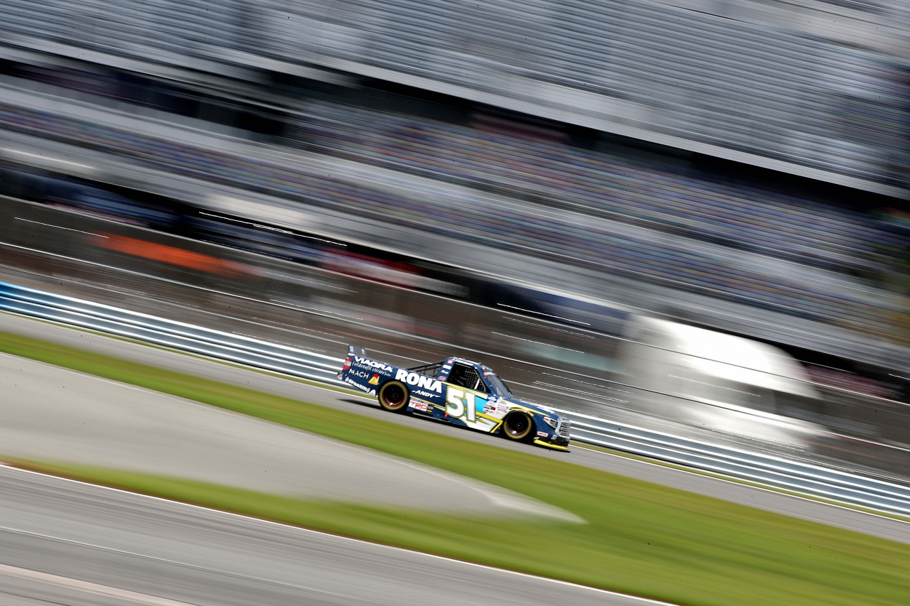 Alex Tagliana on the Daytona Road Course - NASCAR Truck Series