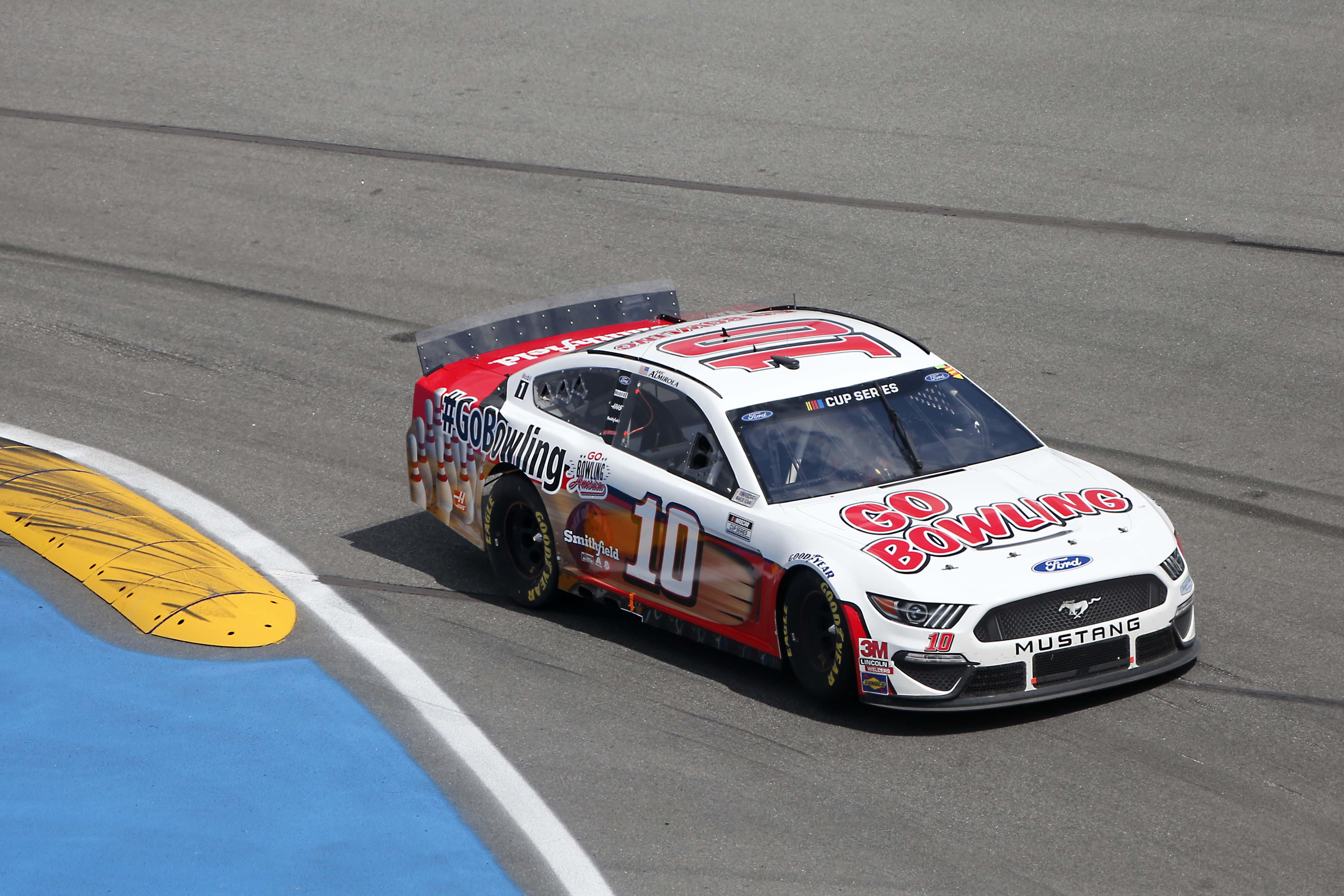 Aric Almirola on the Daytona Road Course - NASCAR Cup Series 2