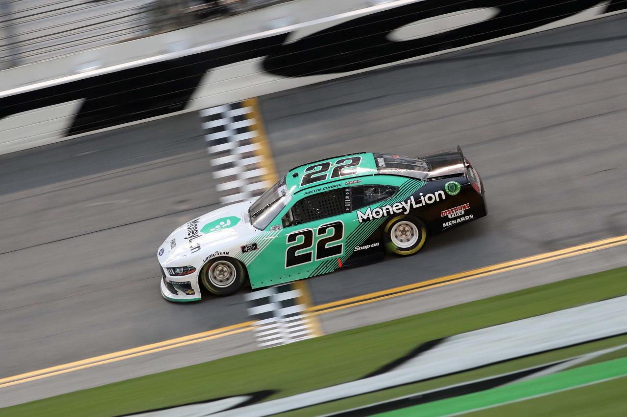 Austin Cindric on the Daytona Road Course - NASCAR Xfinity Series
