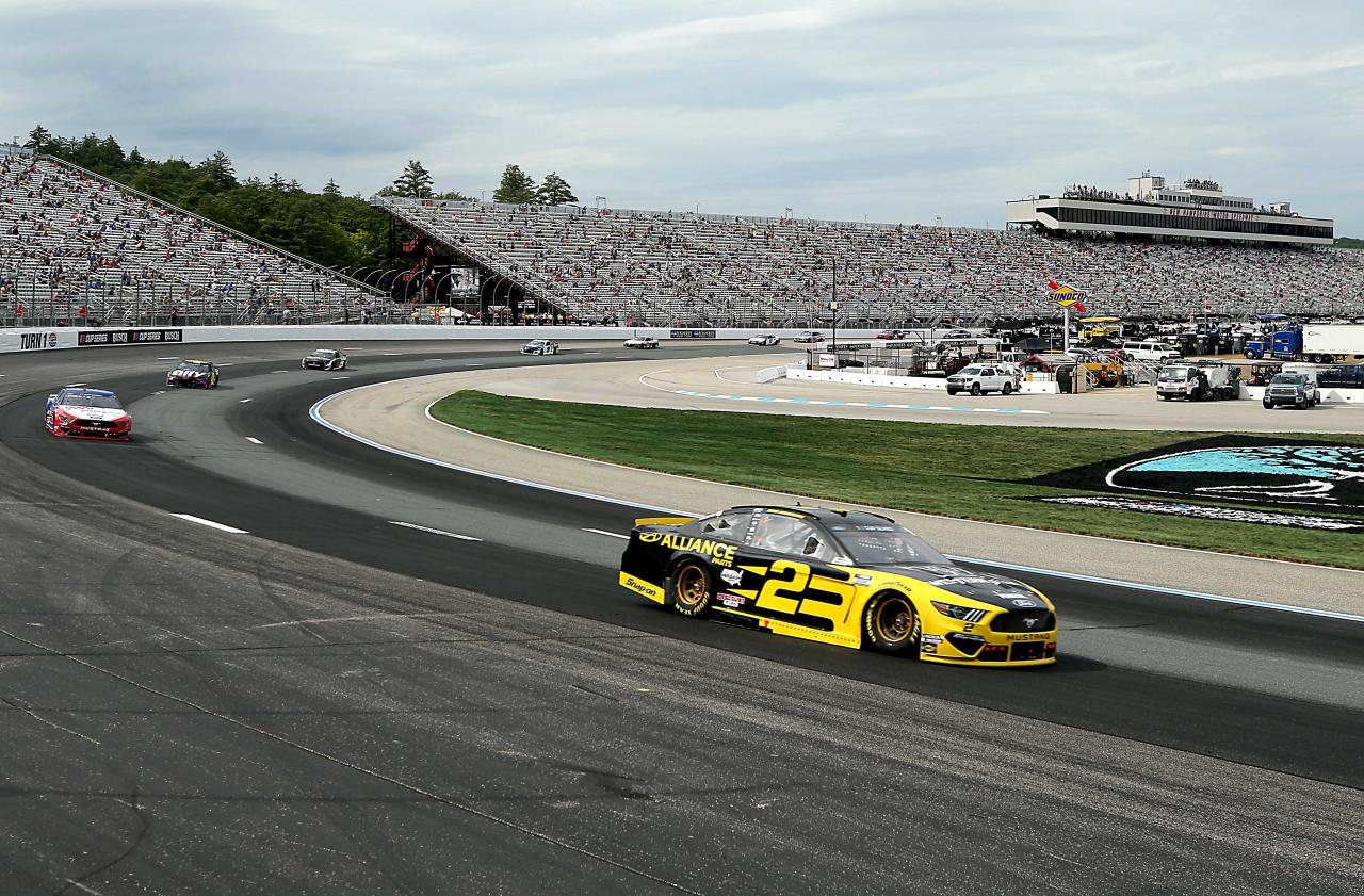 Brad Keselowski at New Hampshire Motor Speedway - NASCAR Cup Series