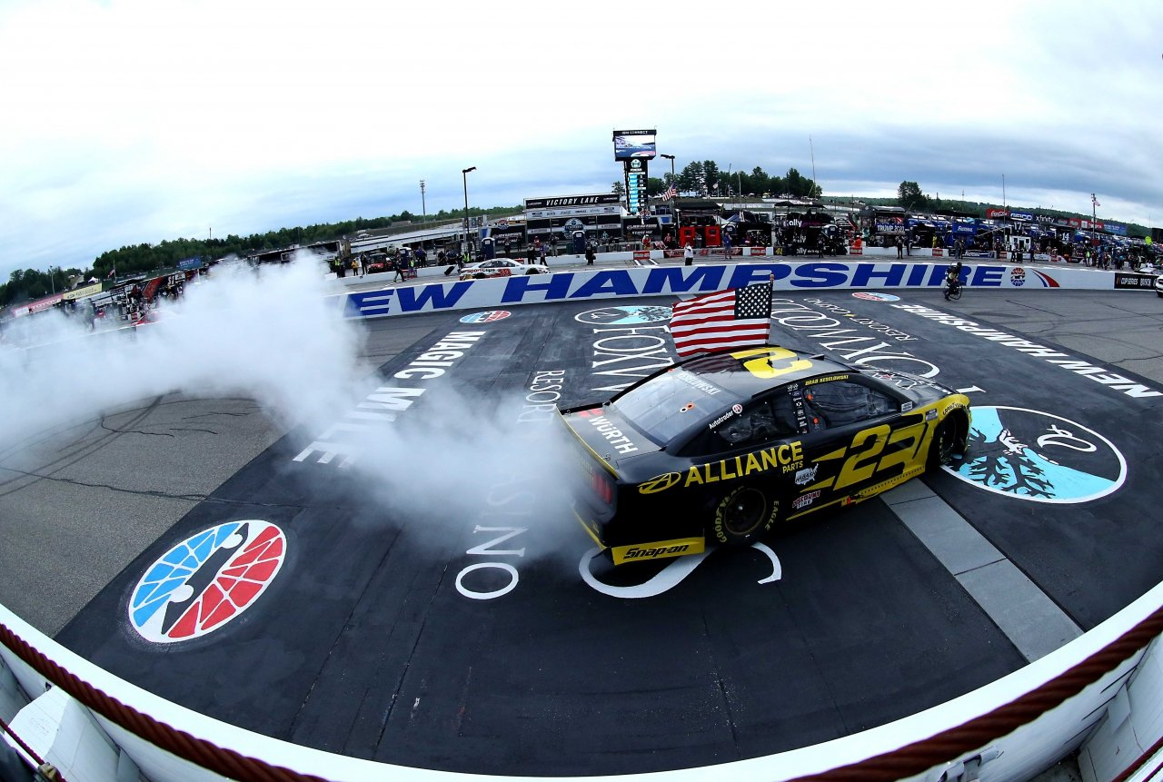 Brad Keselowski wins at New Hampshire Motor Speedway - NASCAR Cup Series