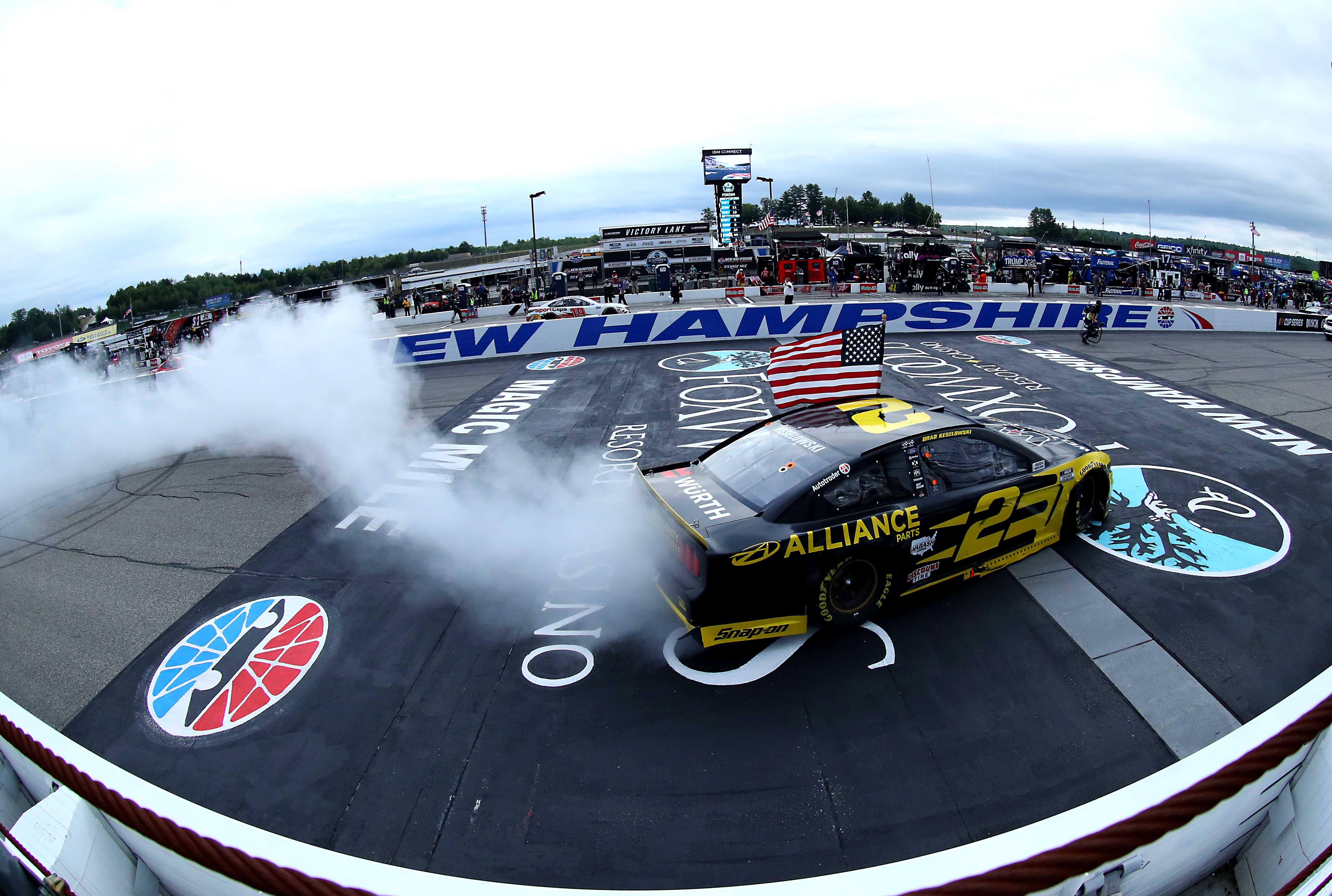 Brad Keselowski wins at New Hampshire Motor Speedway - NASCAR Cup Series